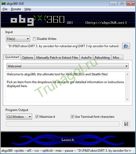 abgx360-Quickstart