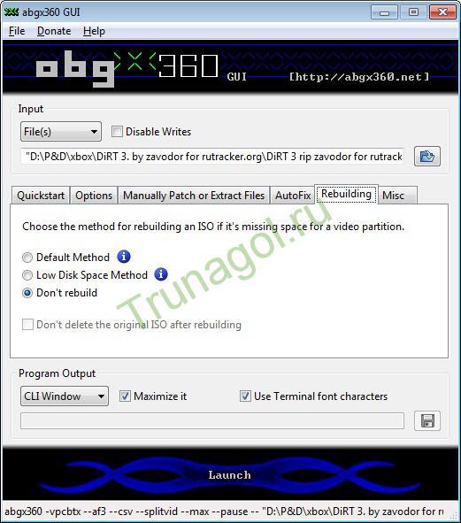abgx360-Rebuilding